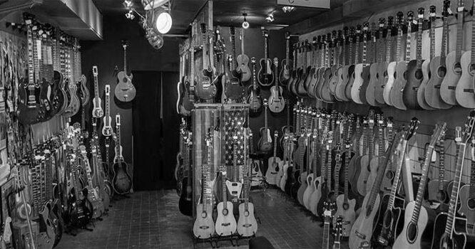 Las 5 mejores tiendas de Instrumentos Musicales en Barcelona